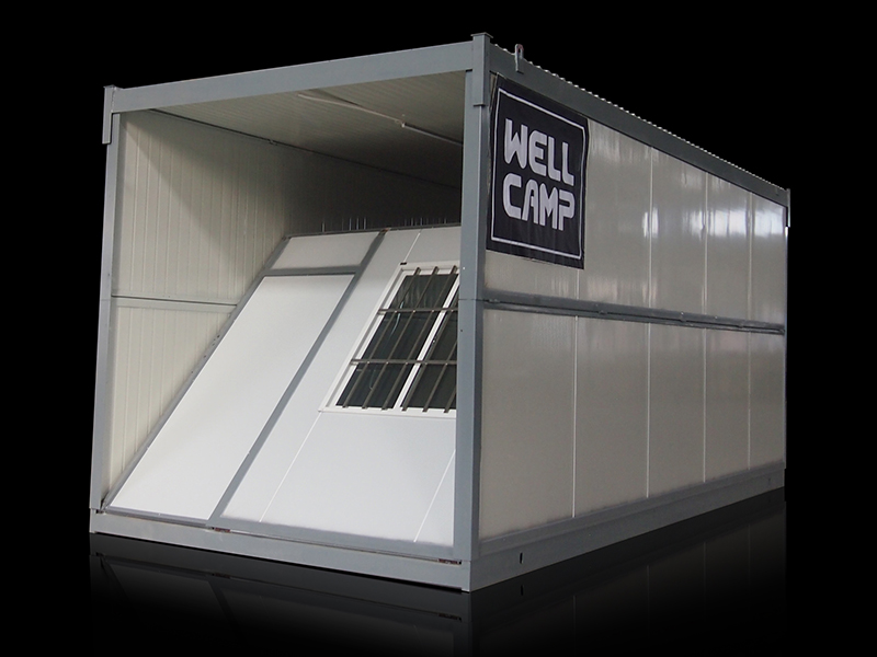 WELLCAMP, WELLCAMP prefab house, WELLCAMP container house expandable cost to build shipping container home manufacturer for sale-8
