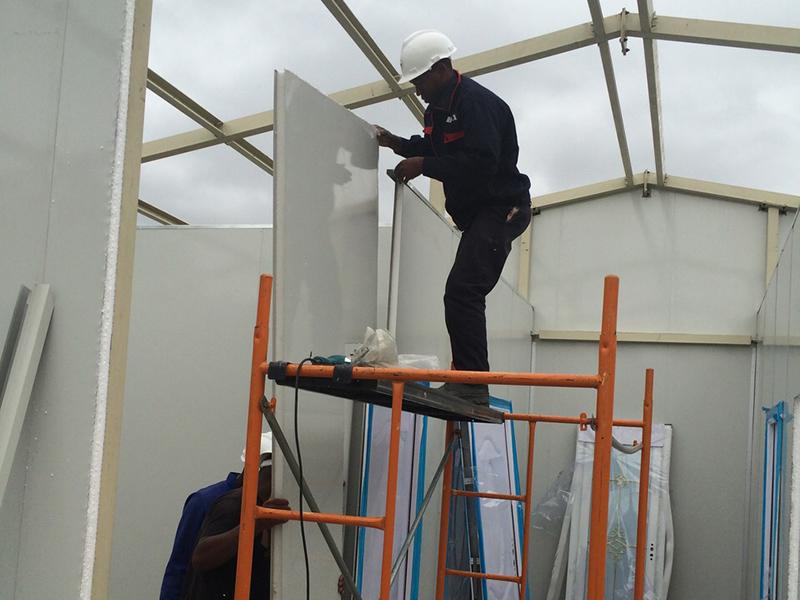 Modular Prefab Concrete Villa Sandwich Panel House, Wellcamp CV-5-6