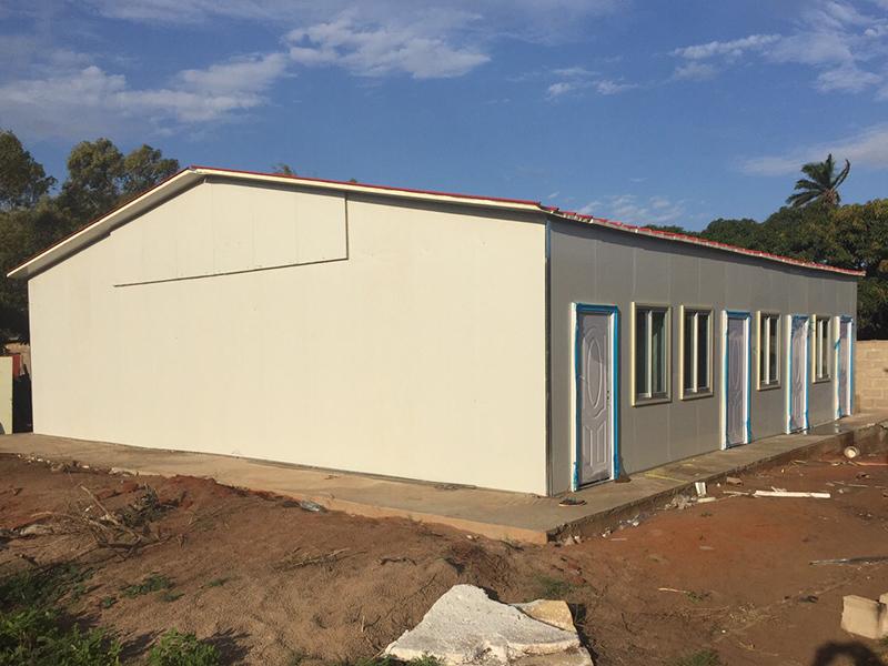 Modular Prefab Concrete Villa Sandwich Panel House, Wellcamp CV-5-8