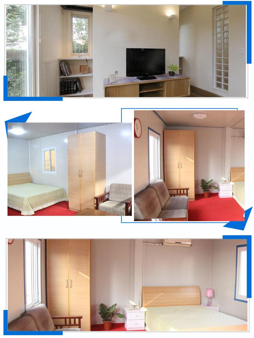 Modular Prefab Concrete Villa Sandwich Panel House, Wellcamp CV-5-9