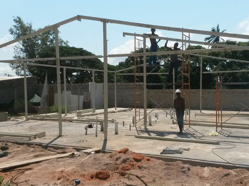 Modular Prefab Concrete Villa Sandwich Panel House, Wellcamp CV-5-5