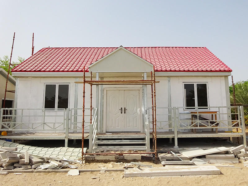 Prefabricated Concrete Villa customized sandwich cv3 cost