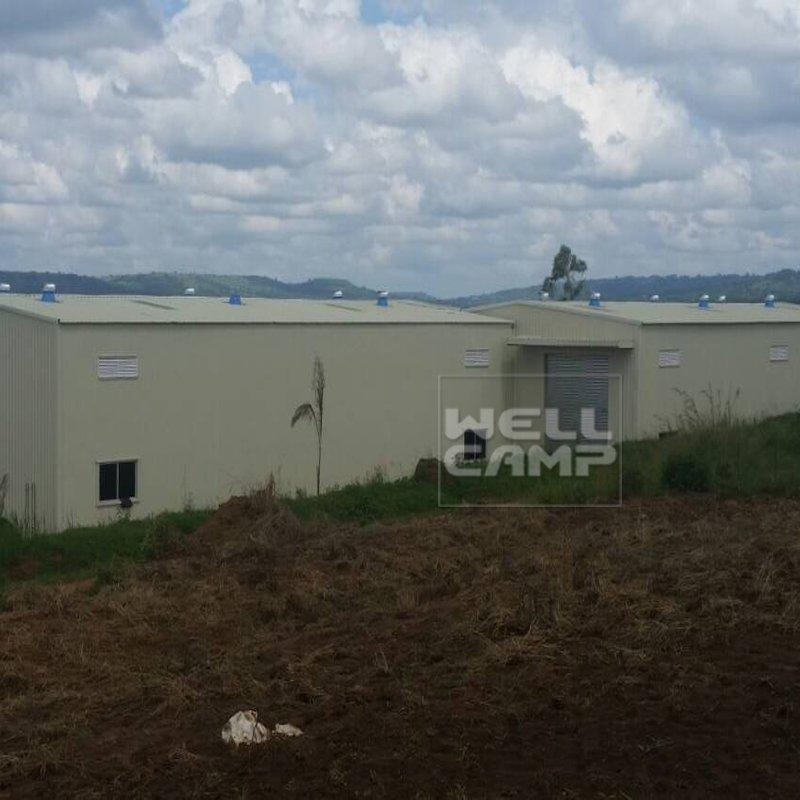 Wellcamp Prefabricated Villa for Hostel in Uganda Project