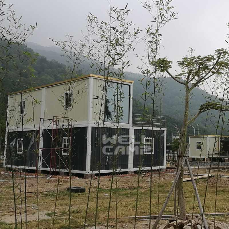 Prefab Homes for Labour Camp in China Jieyang Project