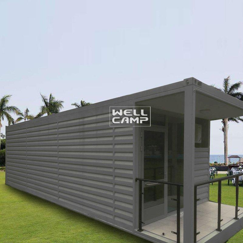 Eco-Friendly Shipping Container House for Living, Wellcamp SC-1
