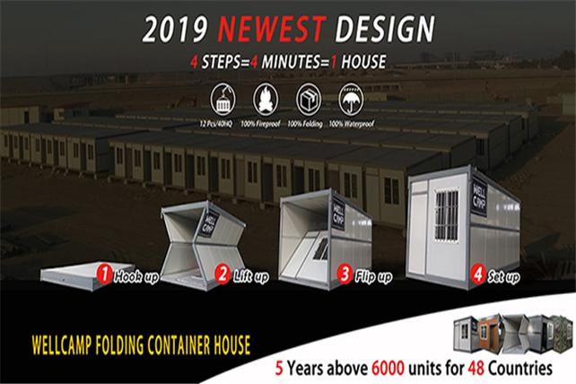 WELLCAMP, WELLCAMP prefab house, WELLCAMP container house-Container House - The Best Equipment For T-1
