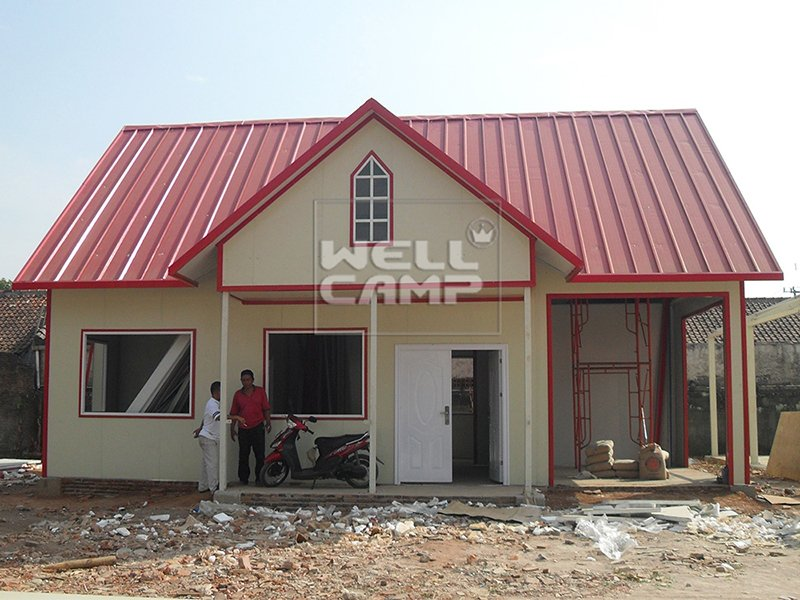 WELLCAMP, WELLCAMP prefab house, WELLCAMP container house Single Pitch Mobile Prefab Homes For Accommodation, Wellcamp K-19 K Prefabricated House image8