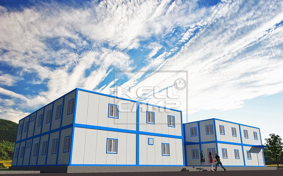 WELLCAMP, WELLCAMP prefab house, WELLCAMP container house Array K Prefabricated House image79