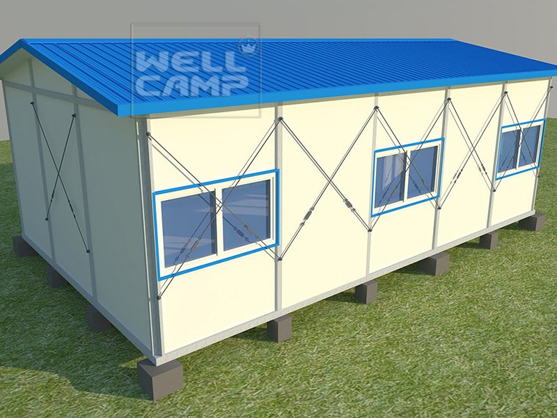 WELLCAMP, WELLCAMP prefab house, WELLCAMP container house Array K Prefabricated House image218