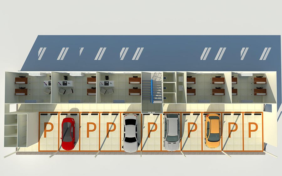 WELLCAMP, WELLCAMP prefab house, WELLCAMP container house Array K Prefabricated House image209