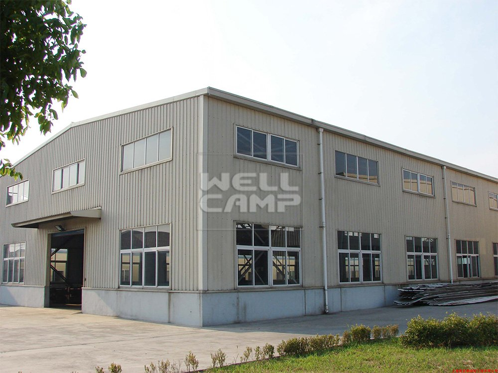 WELLCAMP, WELLCAMP prefab house, WELLCAMP container house Low Cost Prefabricated Steel Structure Workshop, Wellcamp S-7 Steel Structure Workshop image51