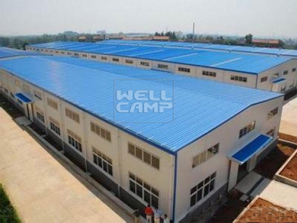 WELLCAMP, WELLCAMP prefab house, WELLCAMP container house Economic Steel Structure Building for Warehouse, Wellcamp S-8 Steel Structure Workshop image52