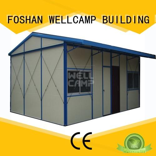 WELLCAMP, WELLCAMP prefab house, WELLCAMP container house labor camp apartment for hospital