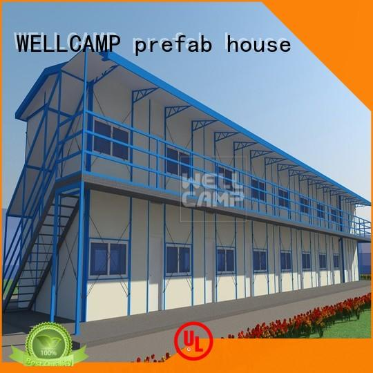 WELLCAMP, WELLCAMP prefab house, WELLCAMP container house widely prefab houses online for accommodation worker