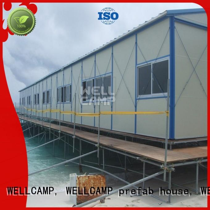 durable prefabricated concrete houses online for office