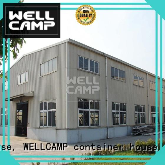 WELLCAMP, WELLCAMP prefab house, WELLCAMP container house steel cheap prefab warehouse prefabricated for