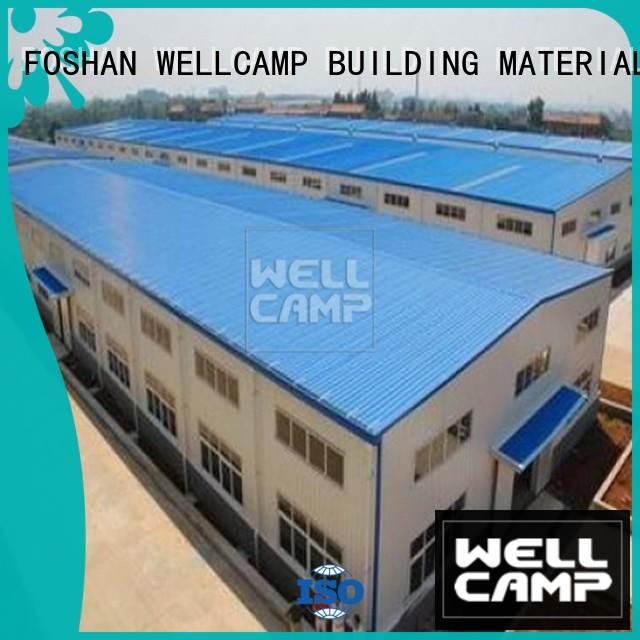 WELLCAMP, WELLCAMP prefab house, WELLCAMP container house panel prefab warehouse china supplier for warehouse