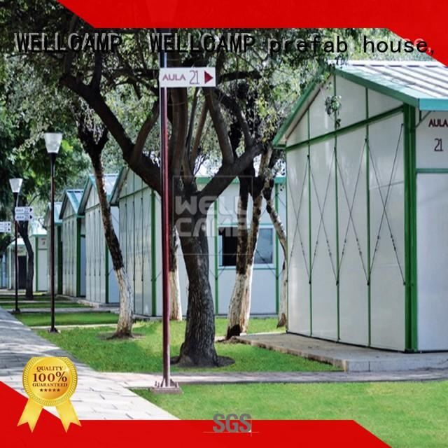 prefab light steel structure prefabricated house homes for WELLCAMP, WELLCAMP prefab house, WELLCAMP container house