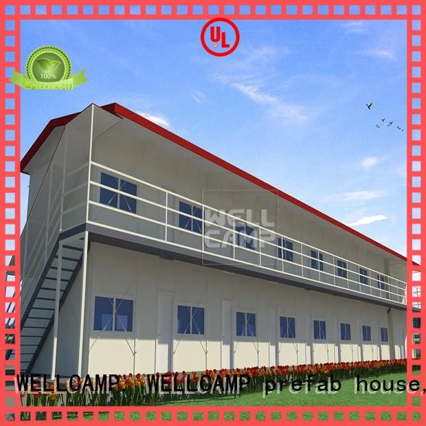 WELLCAMP, WELLCAMP prefab house, WELLCAMP container house prefabricated concrete houses on seaside for labour camp
