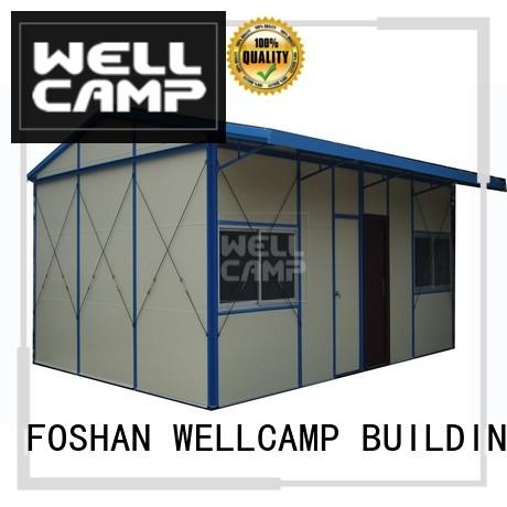 WELLCAMP, WELLCAMP prefab house, WELLCAMP container house panel prefabricated house material for labour camp