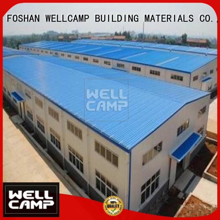 prefabricated warehouse steel goods WELLCAMP, WELLCAMP prefab house, WELLCAMP container house