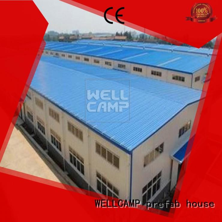 WELLCAMP, WELLCAMP prefab house, WELLCAMP container house widely cheap prefab warehouse