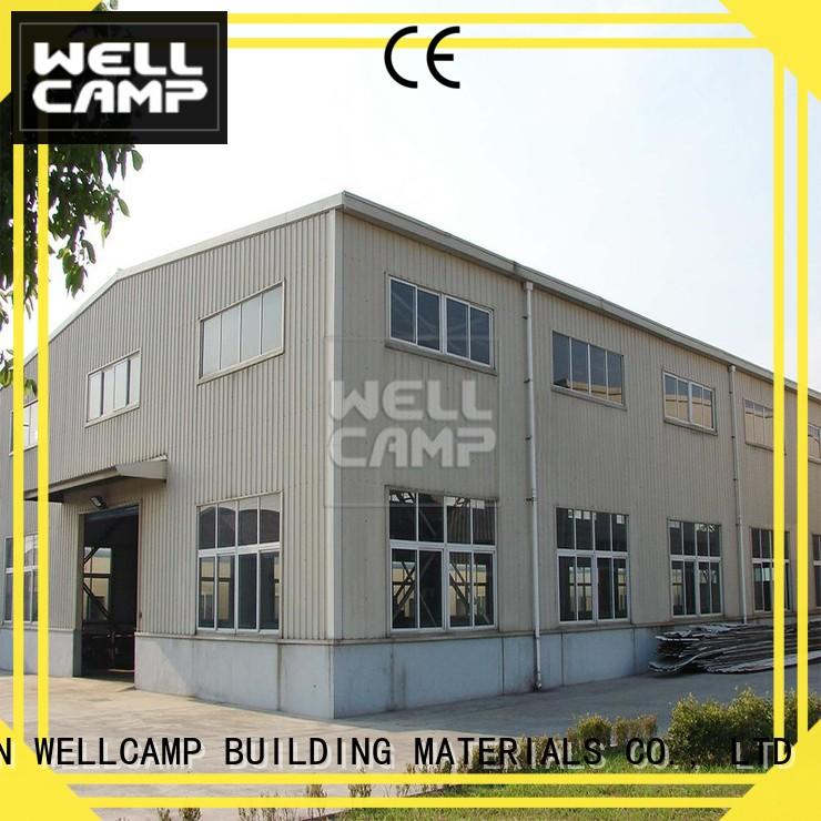 WELLCAMP, WELLCAMP prefab house, WELLCAMP container house steel warehouse manufacturer for goods