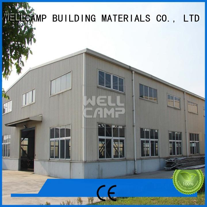 WELLCAMP, WELLCAMP prefab house, WELLCAMP container house standard steel warehouse manufacturer for sale