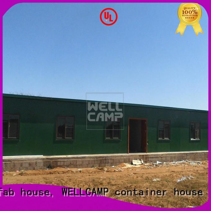 WELLCAMP, WELLCAMP prefab house, WELLCAMP container house luxury prefabricated houses manufacturers china for labour camp