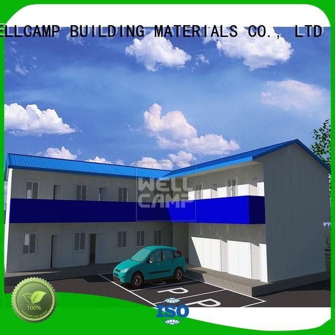 WELLCAMP, WELLCAMP prefab house, WELLCAMP container house mobile prefab guest house online for office