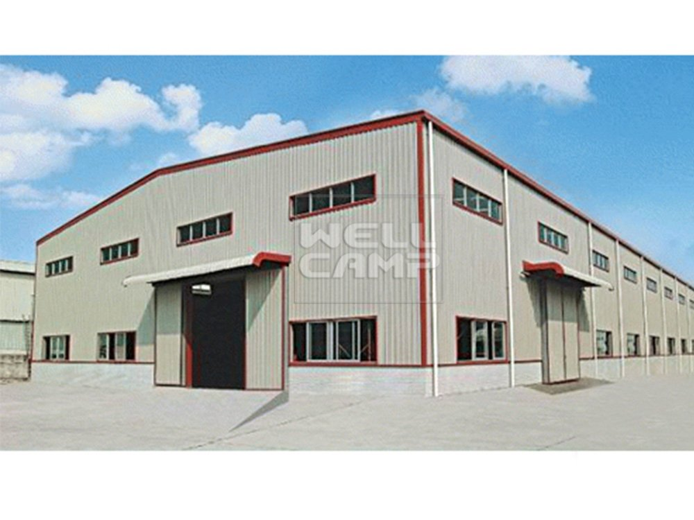 WELLCAMP, WELLCAMP prefab house, WELLCAMP container house Customized Standard Durable Steel Structure Workshop, Wellcamp S-4 Steel Structure Workshop image53
