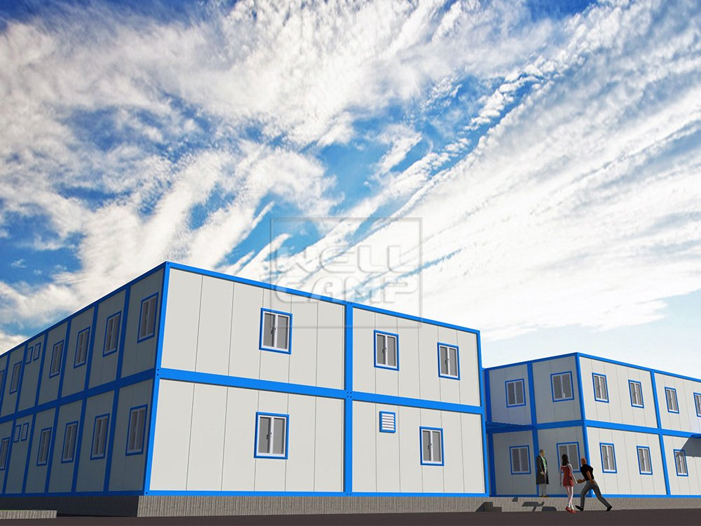 WELLCAMP, WELLCAMP prefab house, WELLCAMP container house Two Floor Mobile Detachable Container Office House, Wellcamp C-8 Detachable Container House image85