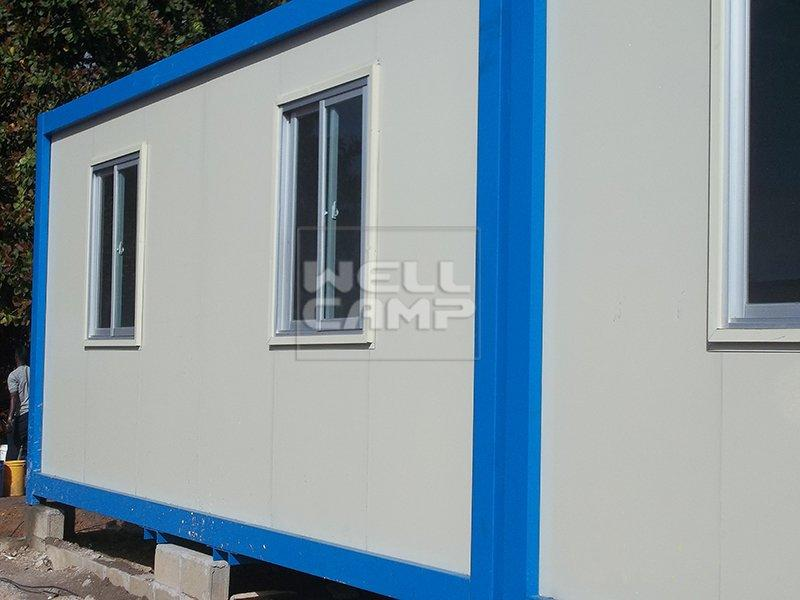 New Design Economic Prefabricated Container House For Office, Wellcamp C-9