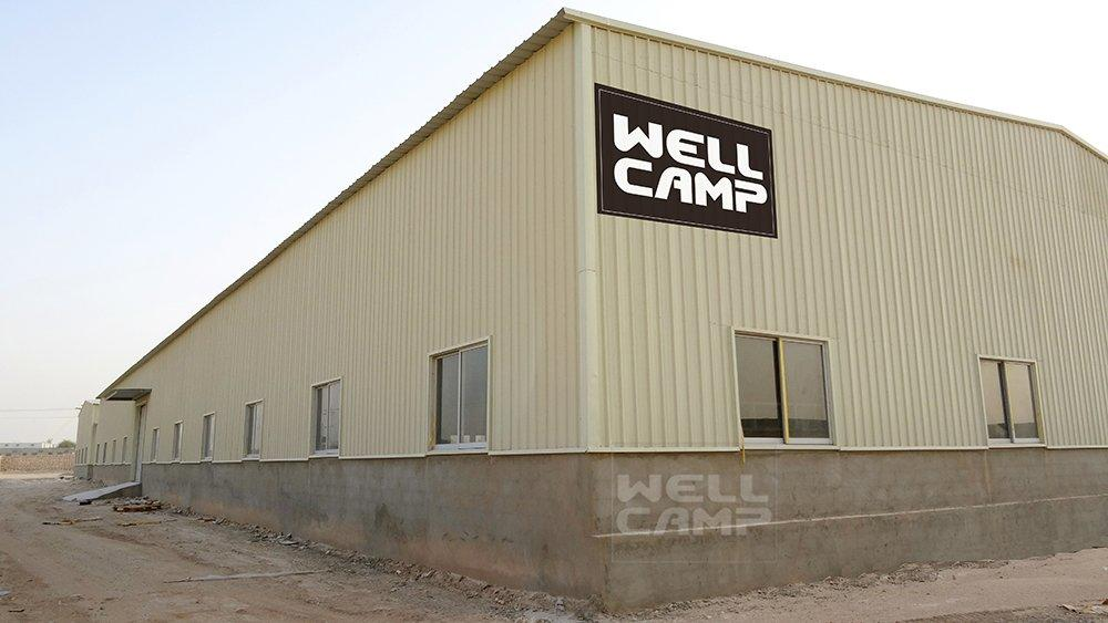 Wellcamp Steel Sheet Steel Structure in Qatar Project