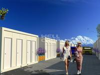 Fast Built Living Detachable Container Homes, Wellcamp C-12