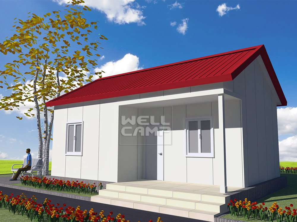 WELLCAMP, WELLCAMP prefab house, WELLCAMP container house Fast Install EPS Sandwich Panel Prefabricated Villa, Wellcamp S-1 Prefabricated Simple Villa image114