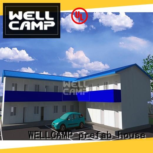 WELLCAMP, WELLCAMP prefab house, WELLCAMP container house prefabricated shipping container homes refugee house for labour camp