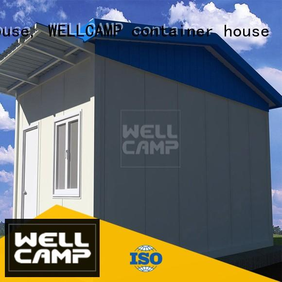 WELLCAMP, WELLCAMP prefab house, WELLCAMP container house panel security room supplier wholesale for security room