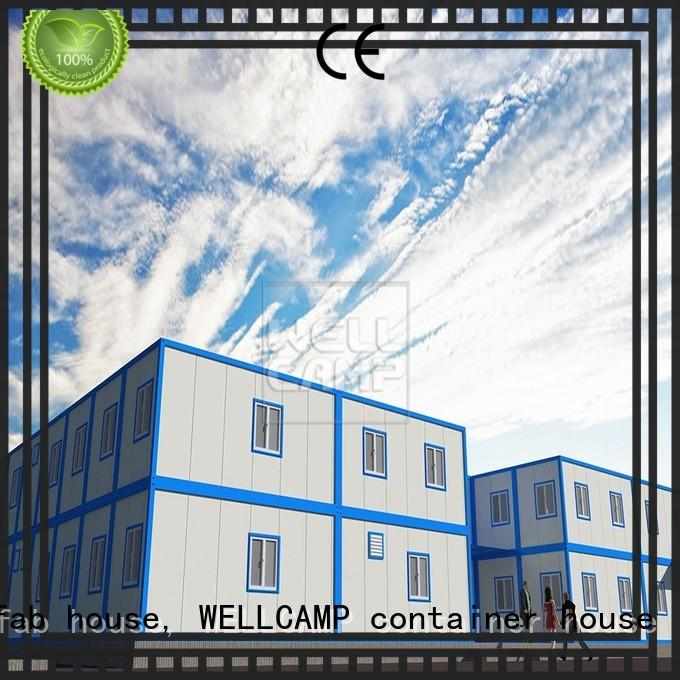 WELLCAMP, WELLCAMP prefab house, WELLCAMP container house fast installed container house project wholesale for apartment