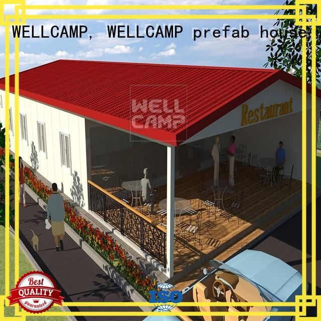 WELLCAMP, WELLCAMP prefab house, WELLCAMP container house customized prefabricated villa maker for sale