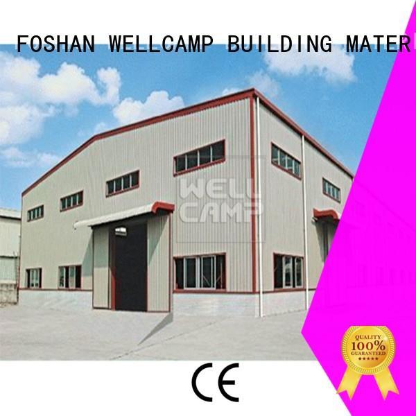 economic Custom goods steel warehouse s3 WELLCAMP, WELLCAMP prefab house, WELLCAMP container house