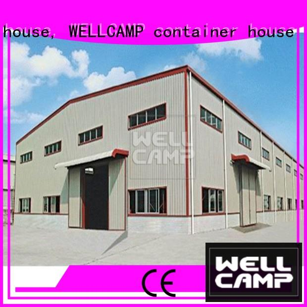 WELLCAMP, WELLCAMP prefab house, WELLCAMP container house warehouse prefabricated warehouse wall