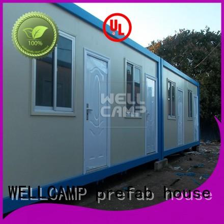 WELLCAMP, WELLCAMP prefab house, WELLCAMP container house low cost container house builders online for living