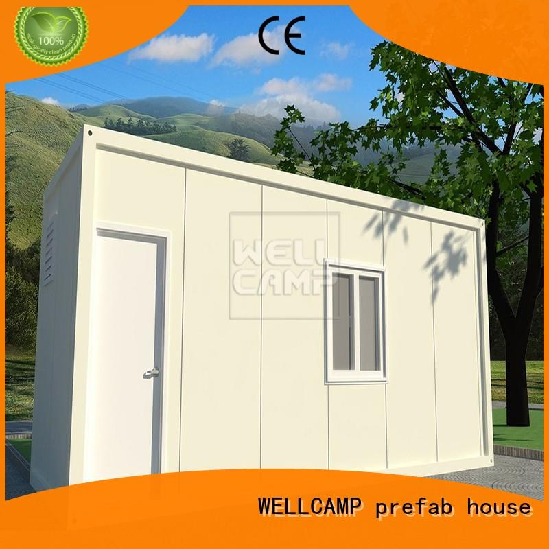 portable easy install container house home for office WELLCAMP, WELLCAMP prefab house, WELLCAMP container house
