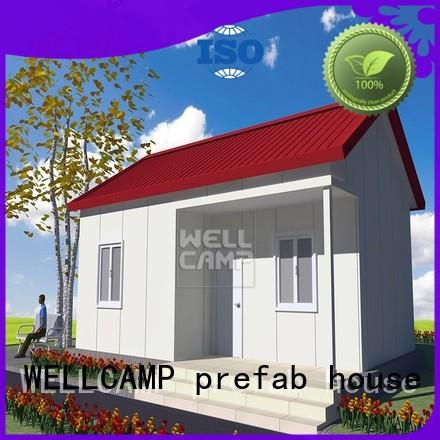 china villa prefab house manufacturers hot sale wholesale WELLCAMP, WELLCAMP prefab house, WELLCAMP container house