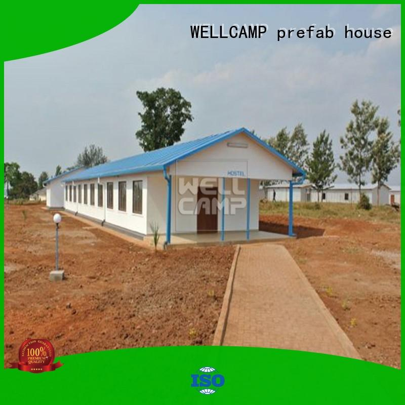 WELLCAMP, WELLCAMP prefab house, WELLCAMP container house prefab modular house manufacturer for hotel