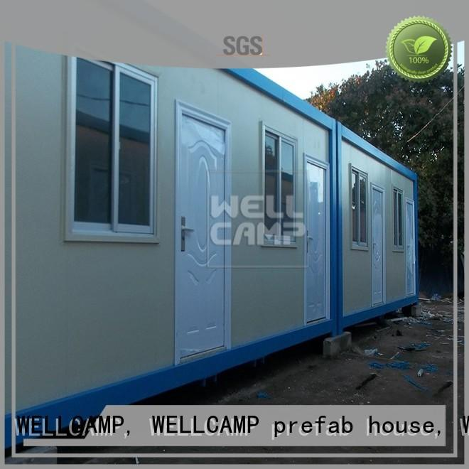 WELLCAMP, WELLCAMP prefab house, WELLCAMP container house premade container house online for living