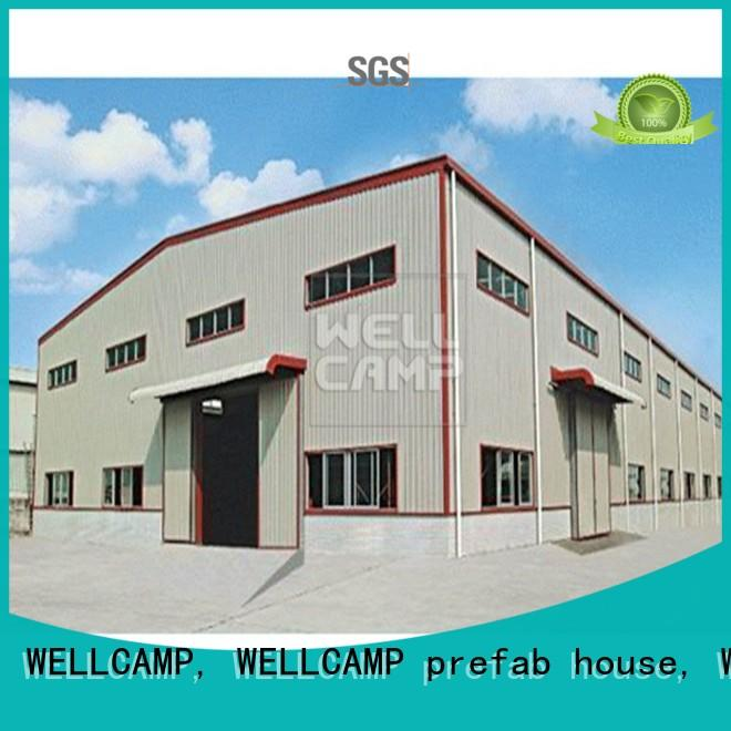 WELLCAMP, WELLCAMP prefab house, WELLCAMP container house panel prefab warehouse cost for warehouse
