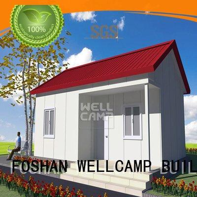 china luxurious prefab villa for sale modular restaurant OEM Prefabricated Simple Villa WELLCAMP, WELLCAMP prefab house, WELLCAM