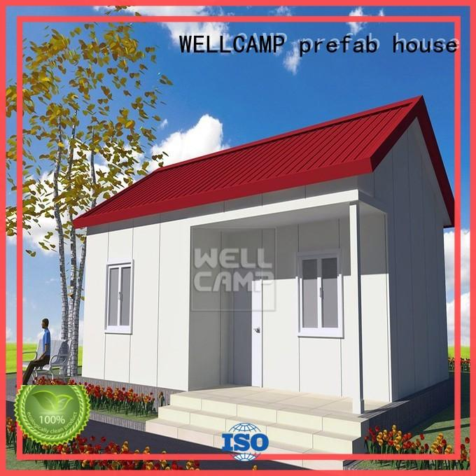 Fast Install EPS Sandwich Panel Prefabricated Villa, Wellcamp S-1